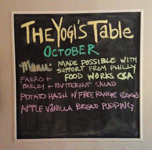 Yogi's Table | The Fresh Day