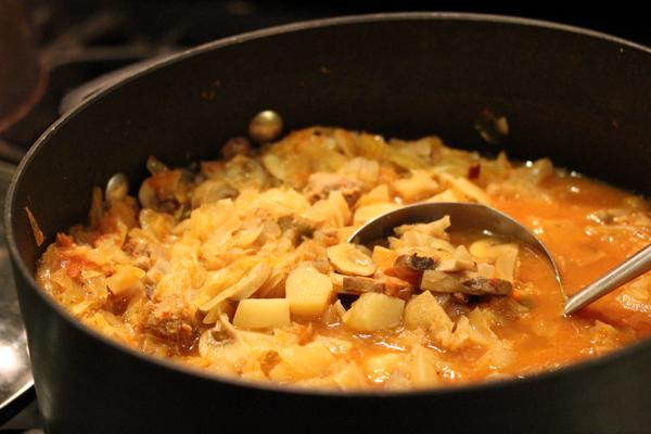 Sauerkraut Stew | The Fresh Day